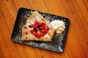 Sweet and Savory Crepes from the Wunderbar