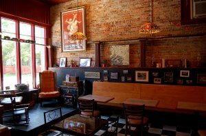 Inside Wunderbar Coffee House