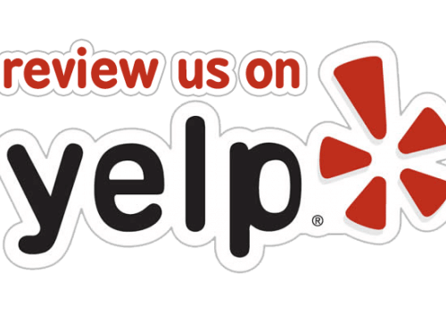 Help Us. Rate Us. Share Us.  Google & Yelp Reviews