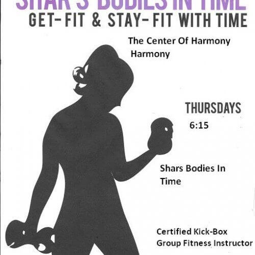 Fitness and Yoga is back at the Center,  Just in time for Fall and Winter