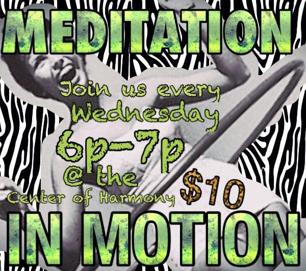 Meditation in Motion, hula hooping for health and fun