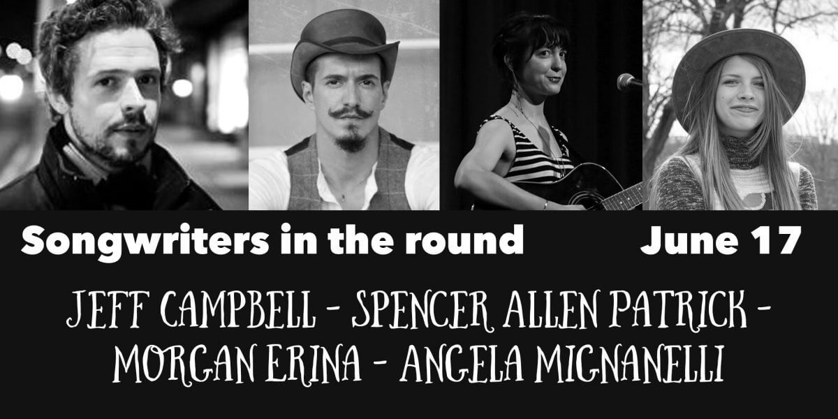 Jeff Campbell, Spencer Allan Patrick, Erisa Morgan, Angela Mignanelnelli play the Center of Harmony