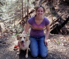 Carla Brack and her Dog, Hiking, Yoga