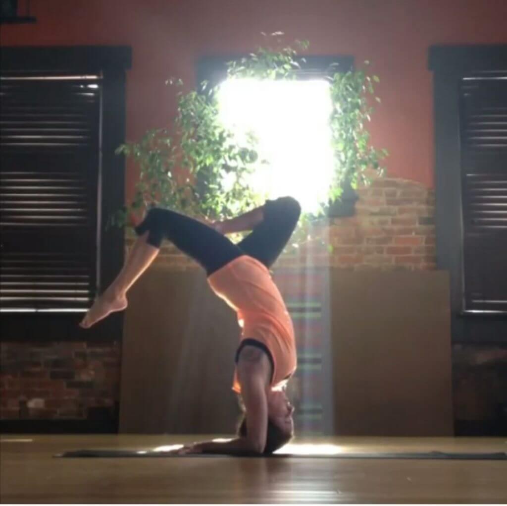Melanie Wood Yoga Instructor.