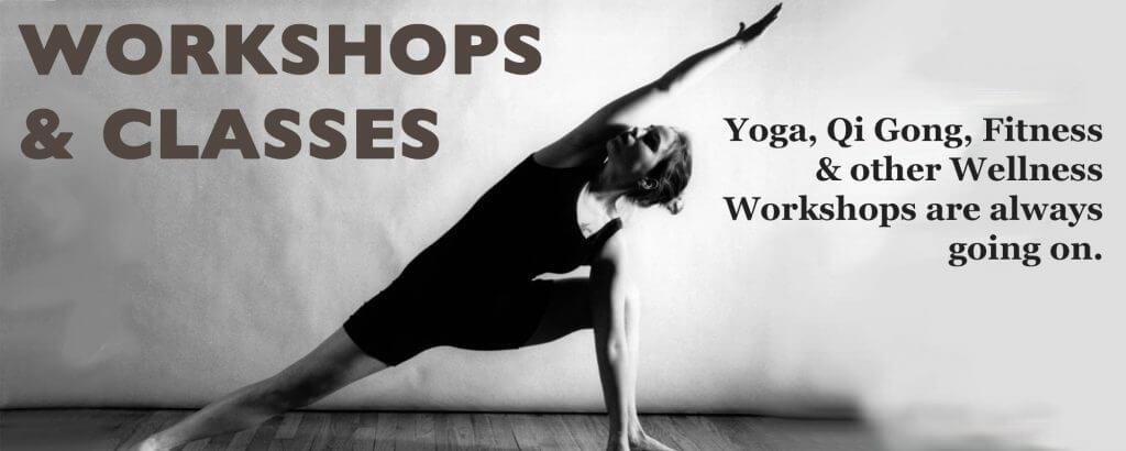 Yoga and Qi Gong classes