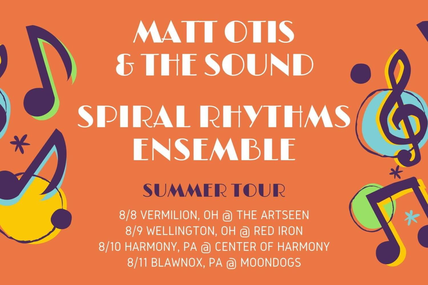 Spiral Rhythm Ensemble Matt Otis and the Sound