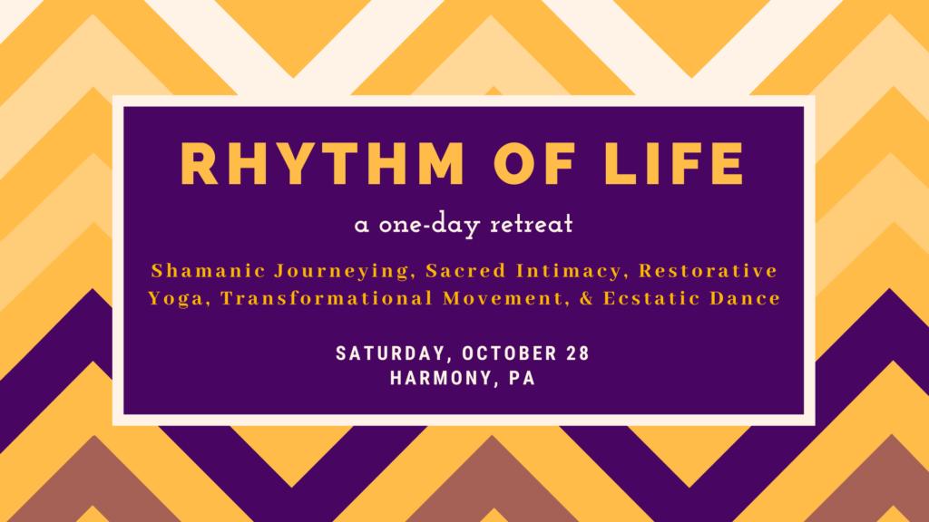 Rhythm of Life Retreat, Dr Harry Pepper