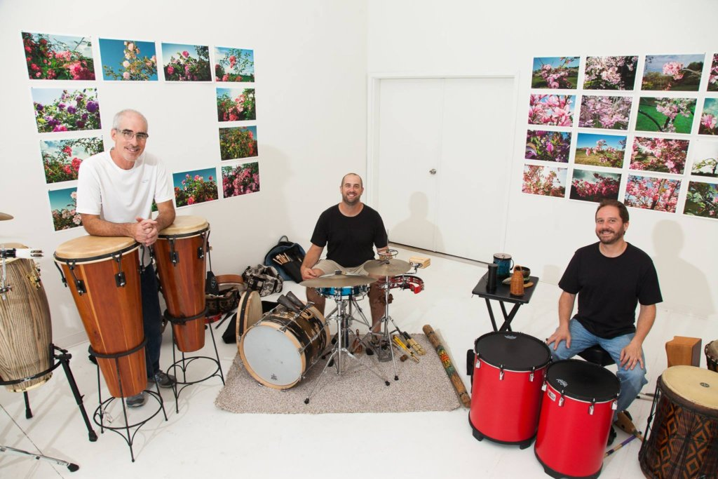 Spiral Rhythms Ensemble Play the Center of Harmony after the Rhythms of Life workshops