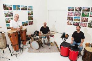 Spiral Rhythms Ensemble Play the Center of Harmony after the Rhythms of Life workshops