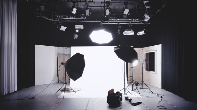 Camera, Photoshoot at the Center of Harmony, Studio Rental Space