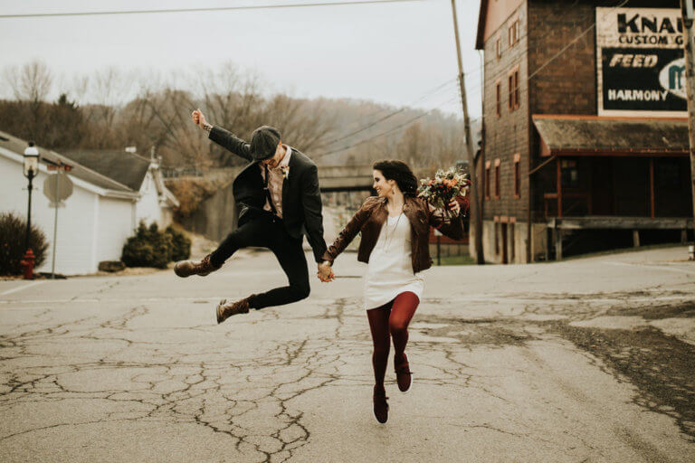 Oakwood Photography at The Center of Harmony, Skipping young Couple