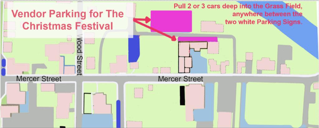 Vendor Parking Map