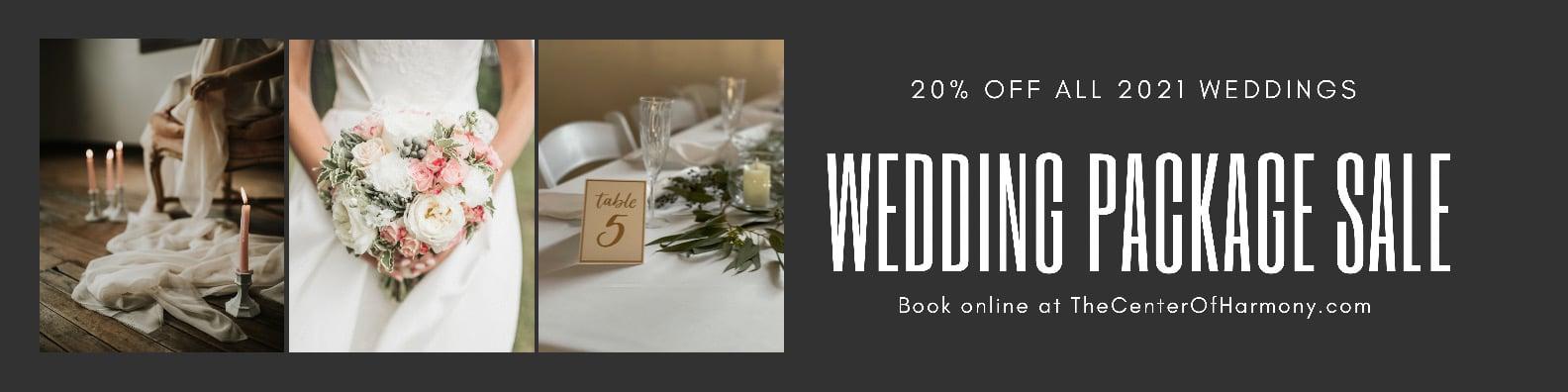 2021 Wedding Sale Banner